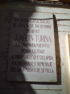 La casa natal de Joaquín Turina