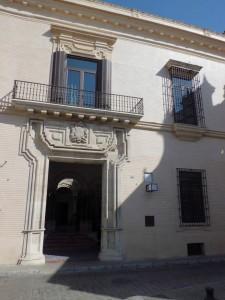 El Palacio de los Marqueses de Villapanés
