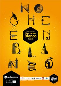 El próximo Viernes 2 de Octubre, se celebra en Sevilla la Noche en Blanco