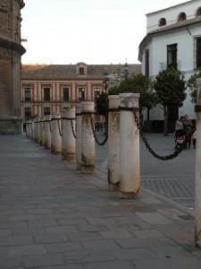 Las cadenas de la Catedral