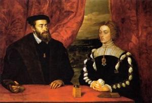 Boda Real entre Carlos I e Isabel de Portugal