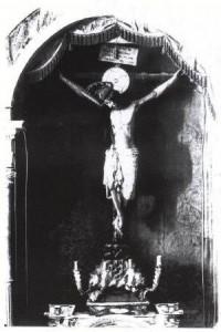 Historias sobre el antiguo Cristo de San Agustín