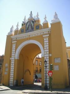 Paseo desde el Arco de la Macarena hasta Santa Catalina