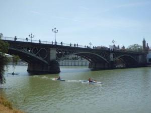 Los puentes de la ciudad de Sevilla