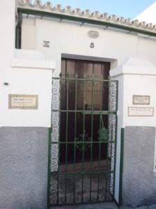 La casa natal de Santa Ángela de la Cruz