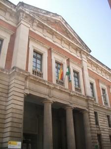 El antiguo Palacio de Justicia