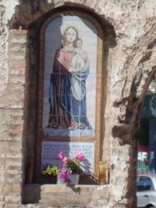 El azulejo de la Virgen de las madejas