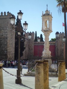 El monumento a Nuestra Señora del Patrocinio