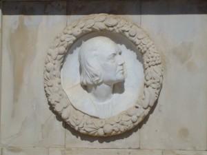 El monumento a Cristóbal Colón