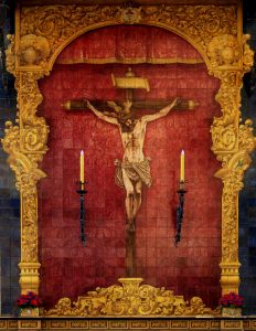 El retablo del Cristo del Amor, de la Calle Villegas