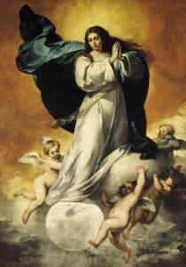 La Inmaculada (La Colosal) del Museo de Bellas Artes