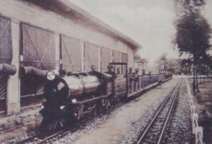 El tren de la Exposición Iberoamericana de 1929