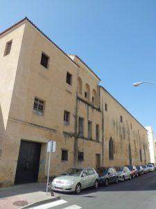El antiguo Convento de San Agustín