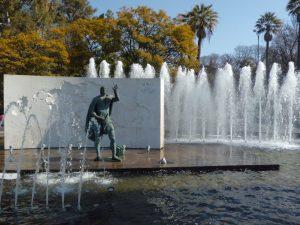 Paseo desde la Glorieta de los Marineros hasta la Puerta de Jerez…