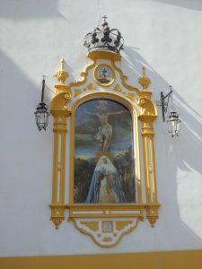 El retablo cerámico de la Capilla del Museo