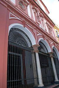 La iglesia del antiguo Hospital de los Venerables Sacerdotes