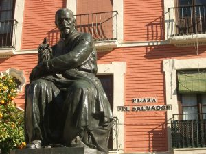 El monumento a Juan Martínez Montañés