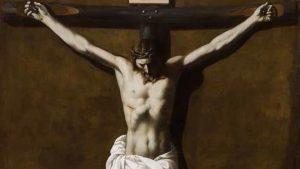 Cristo crucificado muerto