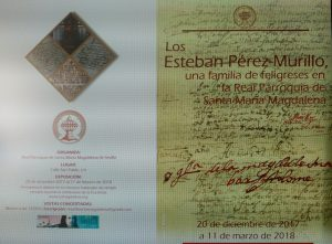 """Visita guiada gratuita a la exposición """"Los Esteban Pérez-Murillo, una familia de feligreses en la Real Parroquia de Santa María Magdalena"""""""