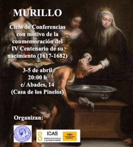 Ciclo de conferencias sobre Murillo, en la Real Academia de Bellas Artes Santa Isabel de Hungría