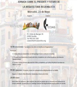 Jornada sobre el presente y el futuro de la arquitectura regionalista