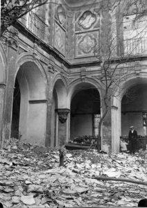 El claustro del desaparecido Convento de San Pablo